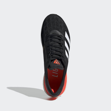 Running Black Adizero Boston 9 Shoes