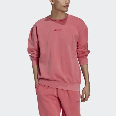 Men Originals Pink Dyed Crewneck Sweatshirt