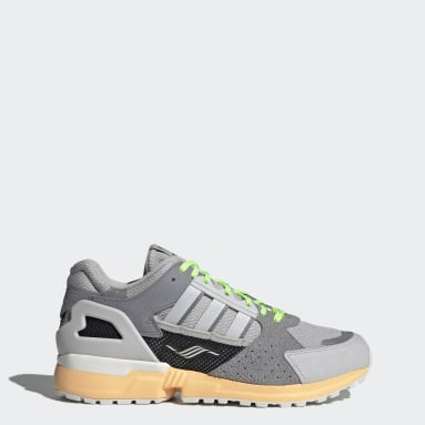 Originals Grey ZX 10,000 Shoes