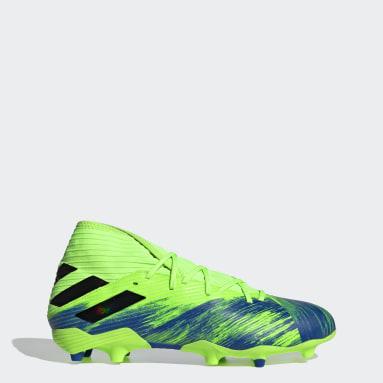 ผู้ชาย ฟุตบอล สีเขียว รองเท้าฟุตบอล Nemeziz 19.3 Firm Ground