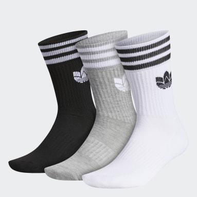 Men's Originals Multicolor 3D Trefoil 2.0 Crew Socks 3 Pairs