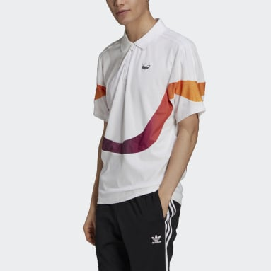 SPRT Supersport Polo Shirt Bialy