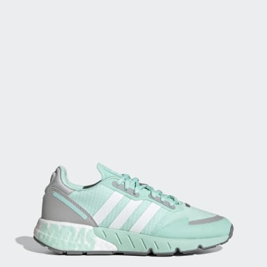 Women's Originals Turquoise ZX 1K Boost Shoes