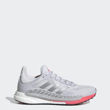 Women Running Grey SolarGlide 3 Shoes