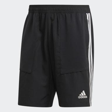 Shorts de Malha Tiro 19 Preto Homem Futebol