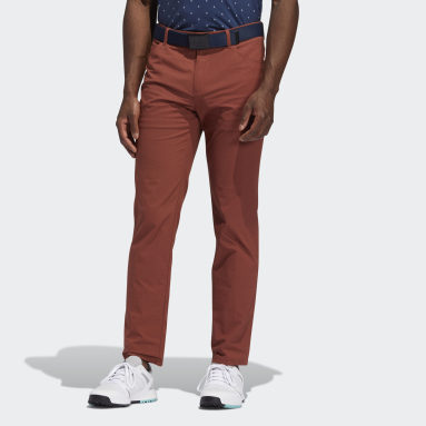 Men Golf Red Go-To Five-Pocket Pants