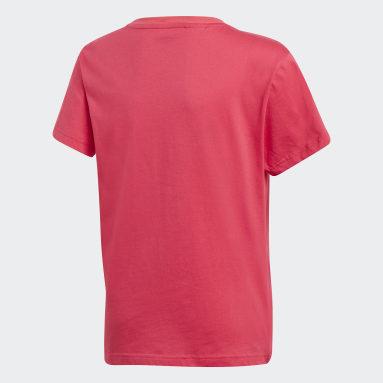 розовый Футболка