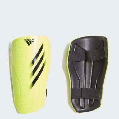 Football Yellow X Training Shin Guards