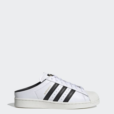 Originals Hvid Superstar mule-sko