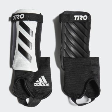 белый Футбольные щитки Tiro Match