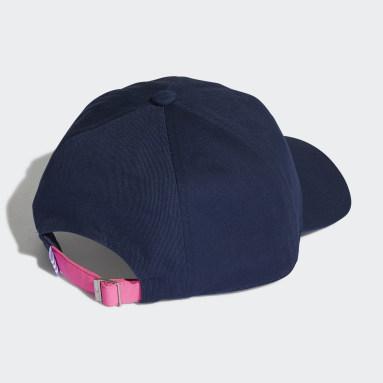 Originals สีน้ำเงิน หมวกแก๊ปพิมพ์ลาย