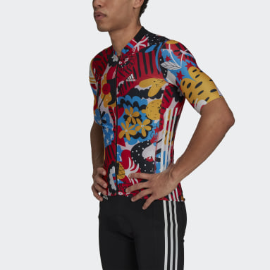 The Egle Cycling Jersey Czerwony