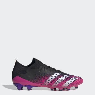 Heren Voetbal Zwart Predator Freak.1 Artificial Grass Voetbalschoenen