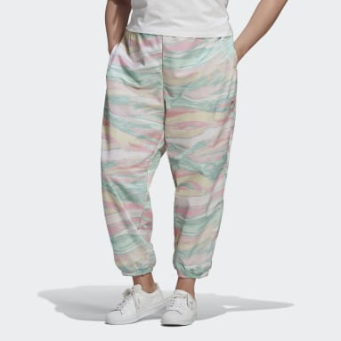 Women Originals Multicolor R.Y.V. Track Pants (Plus Size)