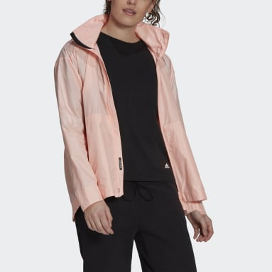 Women Outdoor Pink Traveer WIND.RDY Jacket