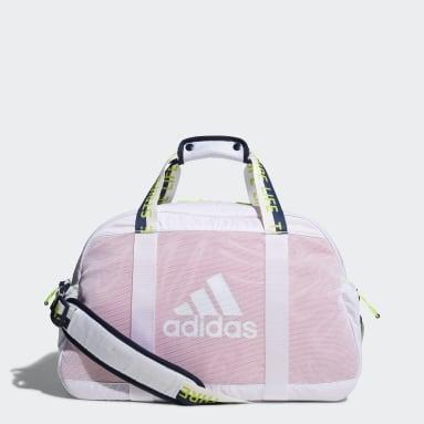 Women Golf White Women's Duffel Bag