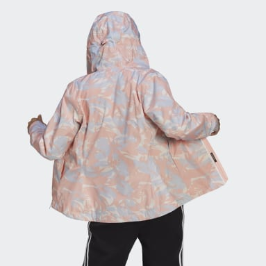 Women's Hiking Pink BSC RAIN.RDY Jacket