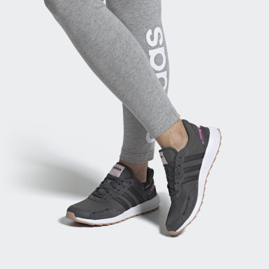 Women's Essentials Grey Retrorun Shoes