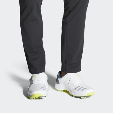 Men's Golf White ZG21 BOA Golf Shoes