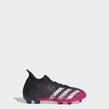 Børn Fodbold Sort Predator Freak.1 Firm Ground støvler
