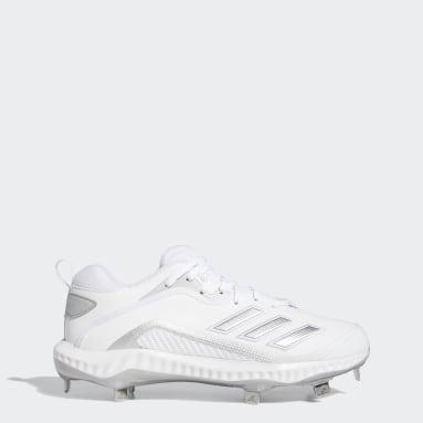 Men's Baseball White Icon 6 Bounce Cleats