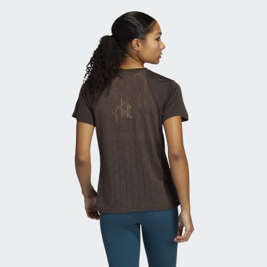 Women's Training Brown HEAT.RDY Training Tee