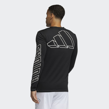 Men's Training Black FB Hype Long Sleeve Tee