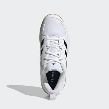 Women's Training White Ligra 7 Indoor Shoes