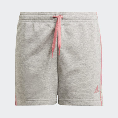 Meisjes Sportswear Grijs adidas Essentials 3-Stripes Short