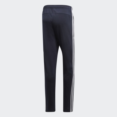 Pants Essentials 3 Franjas Tapered Azul Hombre Training