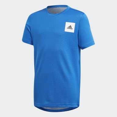 Boys Yoga Blue AEROREADY Tee