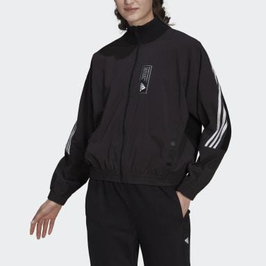 Track top adidas Sportswear Aeroknit Noir Femmes Sportswear
