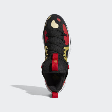 Basketbal Zwart Harden Stepback 2 Schoenen