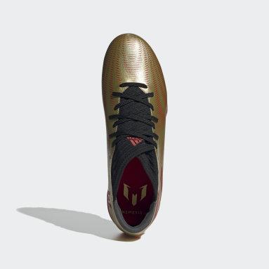 Men's Soccer Gold Nemeziz Messi.3 Turf Shoes
