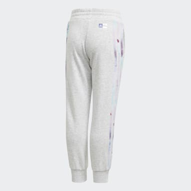 Girls Gym & Training Grey Frozen Joggers