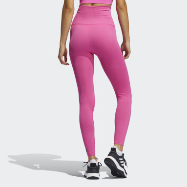 Women Gym & Training Pink Formotion Sculpt Tights