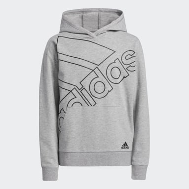 Youth Training Grey Brand Love Pullover Hoodie