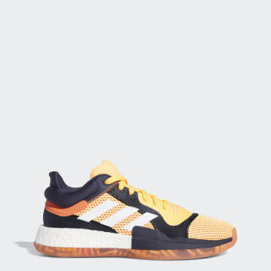 Men's Basketball Orange Marquee Boost Low Shoes