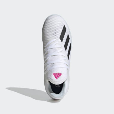 Kids Futsal White X 19.3 Indoor Boots
