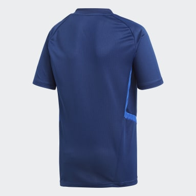 Kids Gym & Training Blue Tiro 19 Training Jersey