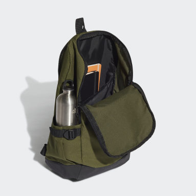 Handball Green Essentials 3-Stripes Response Backpack
