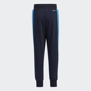 Kids Training Blue Badge of Sport Knit Pants