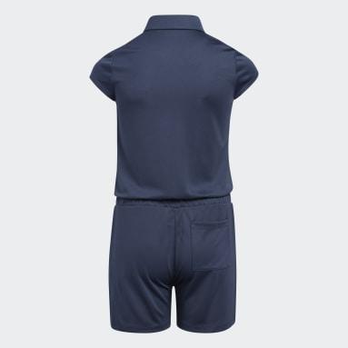 Mono Azul Niña Golf