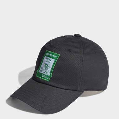 Originals Black Not Easy Being Green Dad Cap