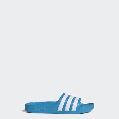 adilette Aqua Slides Niebieski
