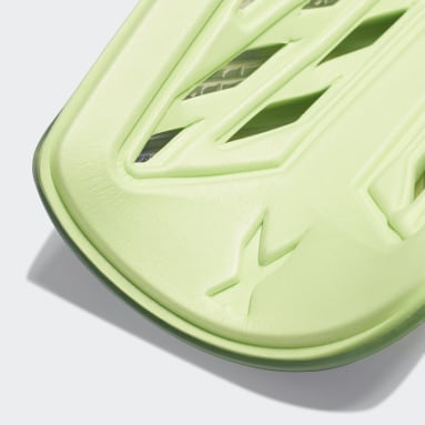 Fotbal zelená Chrániče holení X 20 League