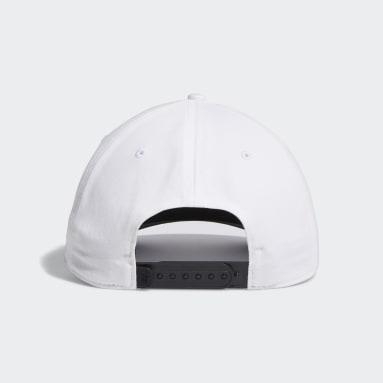 Men's Golf White Adicross Bold Stripe Hat