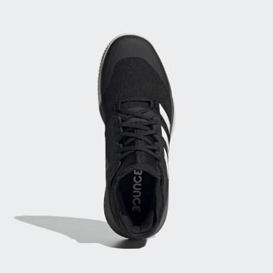 Netbal zwart Court Team Bounce Indoor Schoenen