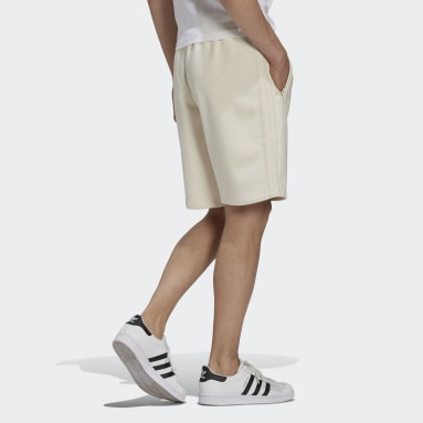 Men's Originals White Adicolor 3-Stripes Shorts