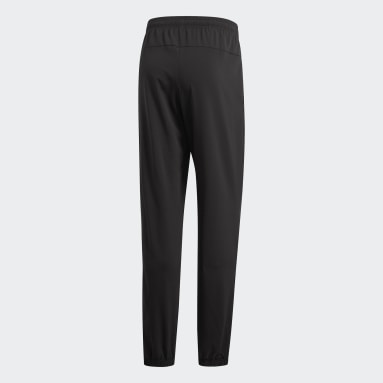Heren Fitness En Training zwart Essentials Plain Stanford Broek